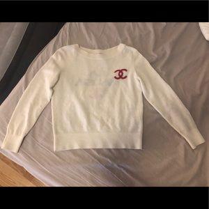 Chanel LA PAUSA cashmere sweater
